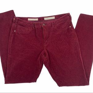 Pilcro and the Letterpress Thin Corduroy Pants, 32